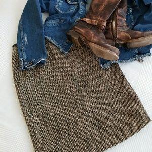 ||CALVIN KLEIN|| tweed skirt